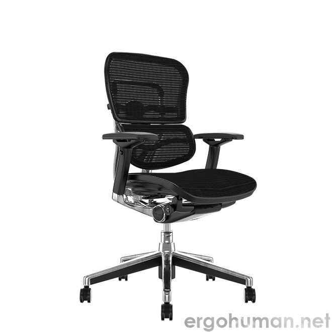 Ergohuman Elite Mesh Office Chair no Head Rest