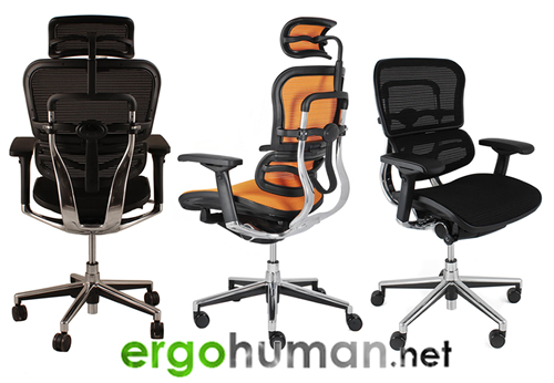 Ergohuman Elite Mesh Office Chairs