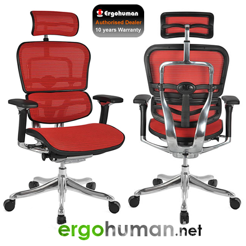 Ergohuman Plus Luxury Mesh Office Chairs